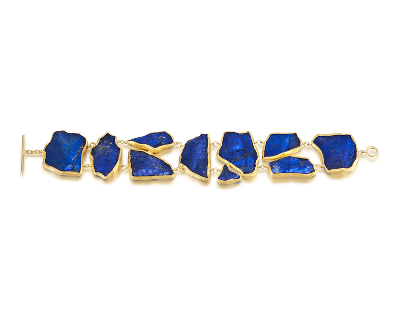 Lapis Mosaic Bracelet