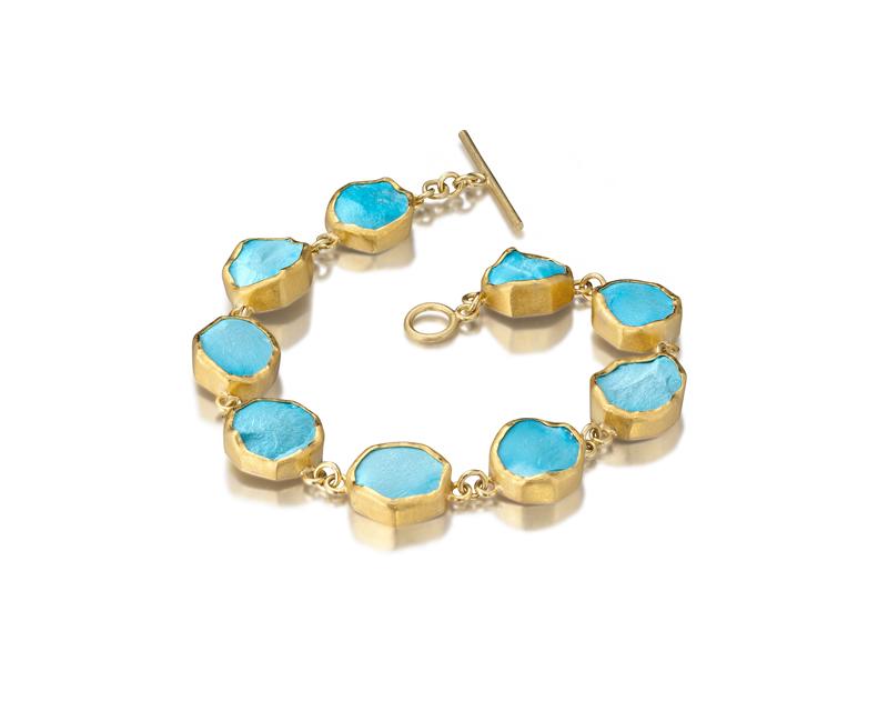 Round Turquoise Bracelet